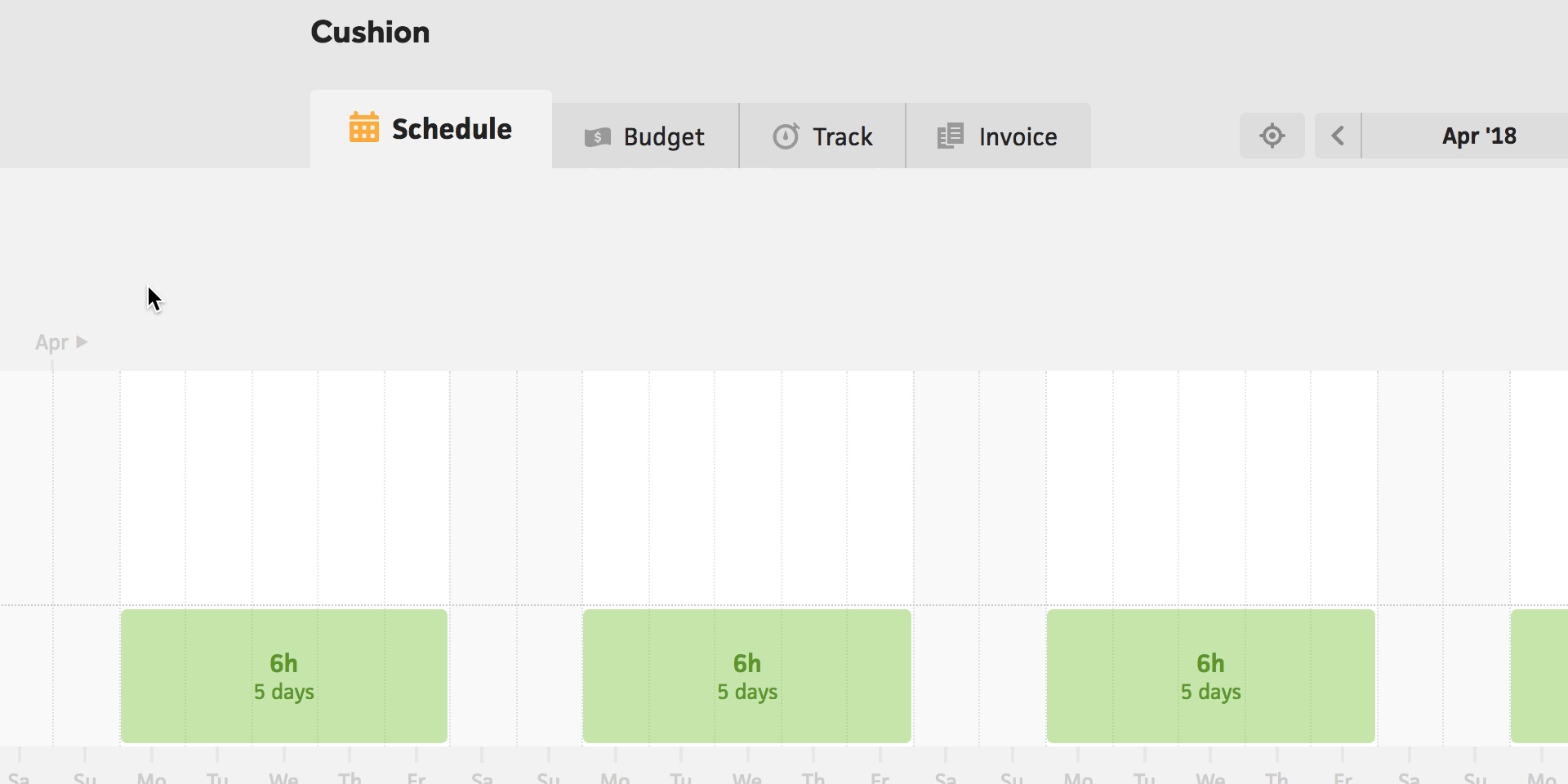 Cushion Peace Of Mind For Freelancers - Time tracking and invoicing software for freelancers